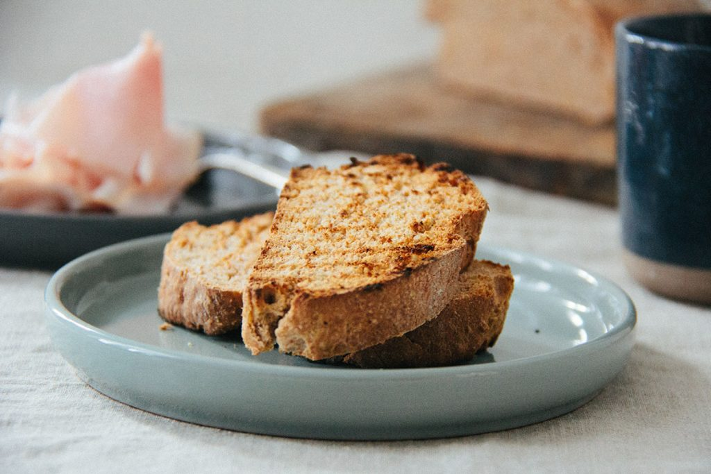 Hirse-Dinkel-Toast