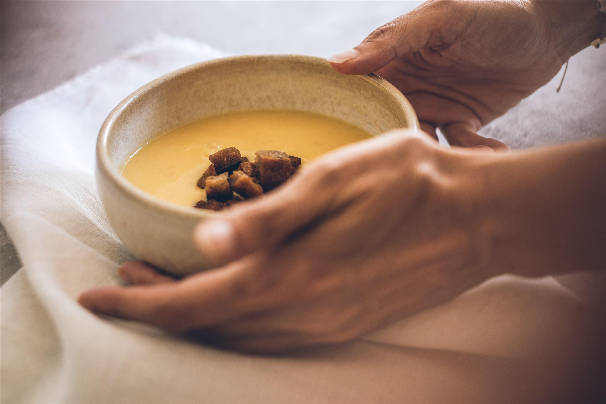 Kürbis-Suppe