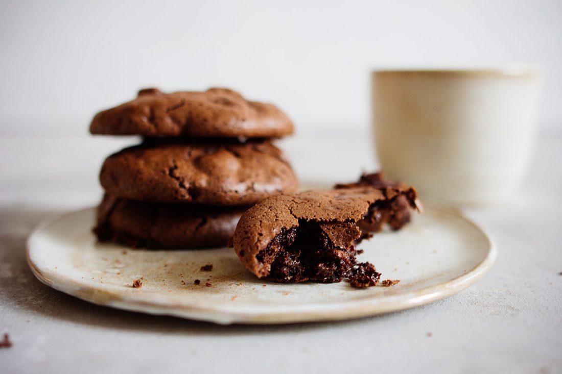 Walnuss-Eiweiss Cookies